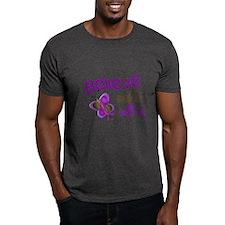 Believe 1 Butterfly 2 PURPLE T-Shirt