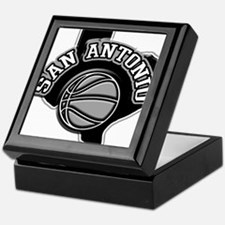 San Antonio Basketball Keepsake Box
