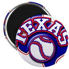 Texas Baseball Magnet