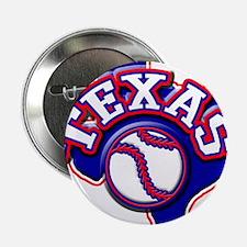 """Texas Baseball 2.25"""" Button"""
