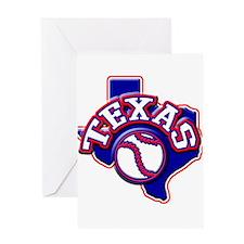 Texas Baseball Greeting Card