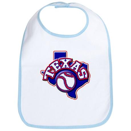 Texas Baseball Bib