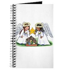 Christmas Angel Nativity Journal