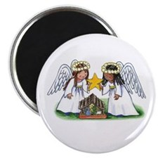 Christmas Angel Nativity Magnet