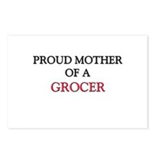 Proud Mother Of A GROCER Postcards (Package of 8)