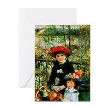 Renoir Two Sisters Greeting Card