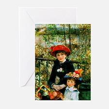 Renoir Two Sisters Greeting Cards (Pk of 10)