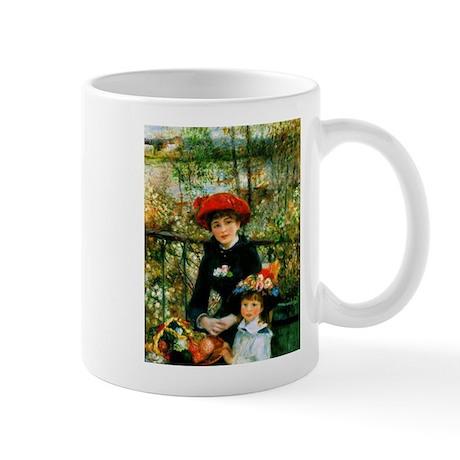 Renoir Two Sisters Mug