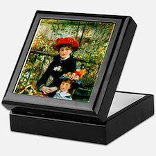 Renoir Two Sisters Keepsake Box