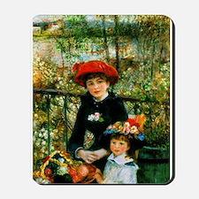 Renoir Two Sisters Mousepad