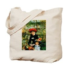 Renoir Two Sisters Tote Bag