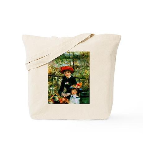 Renoir Two Sisters Tote Bag