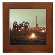 Cannon & NY Monument (07) Framed Tile