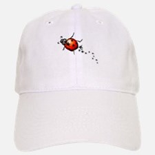 Ladybug Rock Star Baseball Baseball Cap