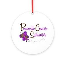 PC Survivor 1 Butterfly 2 Ornament (Round)