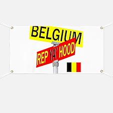 REP BELGIUM Banner