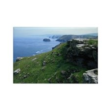 Tintagel Rectangle Magnet