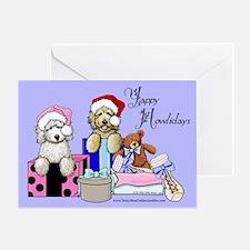 TBG Lilac Christmas Greeting Card