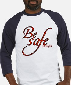 Twilight Movie's - Be Safe Qu Baseball Jersey