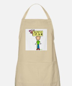 Must Be This Tall BBQ Apron