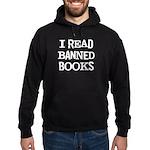 I Read Books Hoodie (dark)