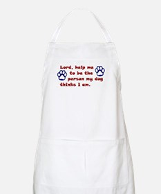 Dog Prayer BBQ Apron