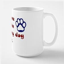 Dog Prayer Large Mug