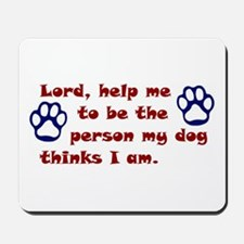 Dog Prayer Mousepad