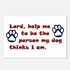 Dog Prayer Postcards (Package of 8)