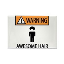 Awesome Fro Rectangle Magnet