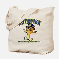 Lutefisk the dried codfish Tote Bag