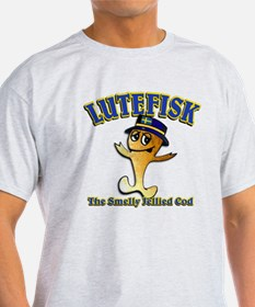 Lutefisk the dried codfish T-Shirt