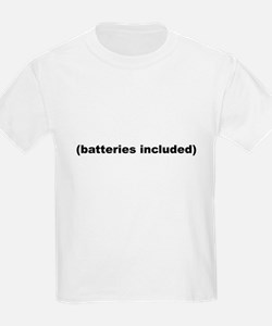 (batteries included) Kids T-Shirt