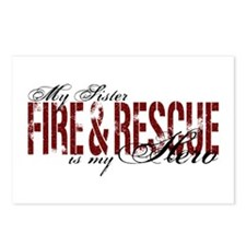 Sister My Hero - Fire & Rescue Postcards (Package