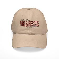 Sister My Hero - Fire & Rescue Baseball Cap
