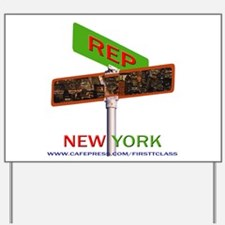 Unique Buffalo new york Yard Sign