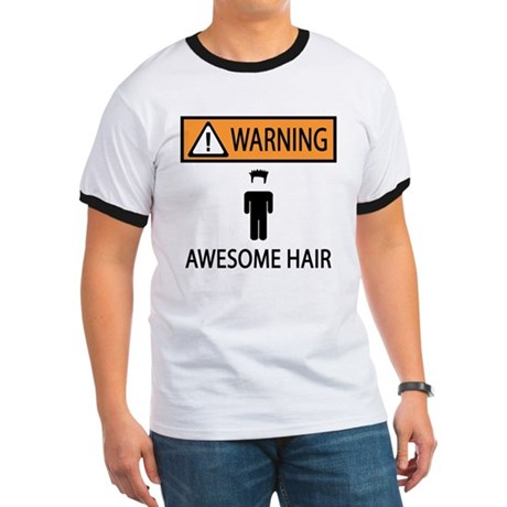 Awesome Spiked Hair Ringer T