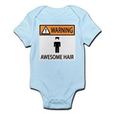 Awesome Spiked Hair Infant Bodysuit