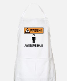 Awesome Spiked Hair BBQ Apron