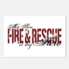 Son My Hero - Fire & Rescue Postcards (Package of