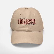 Son My Hero - Fire & Rescue Baseball Baseball Cap
