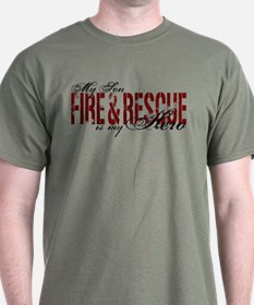 Son My Hero - Fire & Rescue T-Shirt