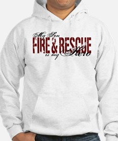 Son My Hero - Fire & Rescue Hoodie