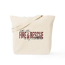 Son My Hero - Fire & Rescue Tote Bag