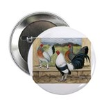"Duckwing Bantam Chickens 2.25"" Button (100 pa"