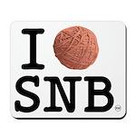 I (Yarn) Stitch 'n Bitch Mousepad