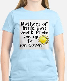 Cute Work home mom T-Shirt