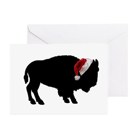 Buffalo Santa Greeting Cards (Pk of 20)
