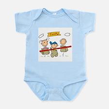 Sack Race Infant Bodysuit