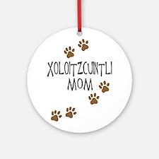 Xoloitzcuintli Mom Ornament (Round)